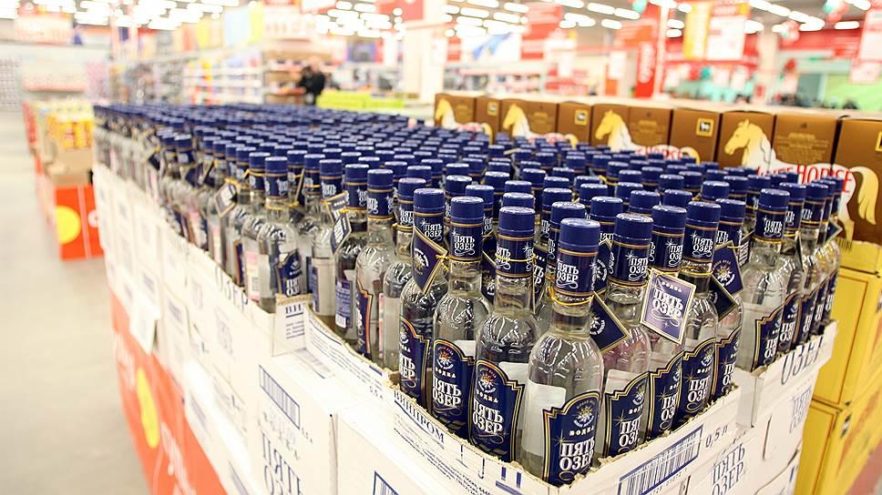 Какие бренды лидируют на российском рынке водок
