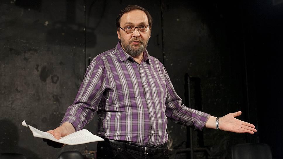 Художественный руководитель московского «Театр.doc» Михаил Угаров