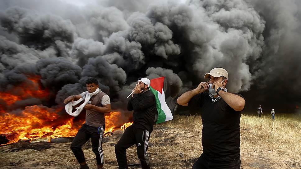 Израиль ответил сектору Газа огнем на дым