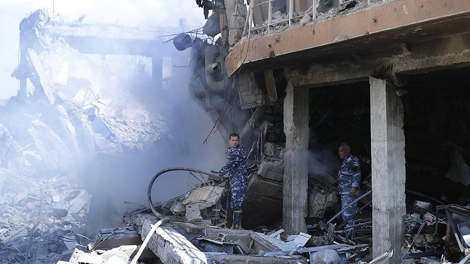 Почему результатами ракетного обстрела Сирии остались довольны все стороны конфликта