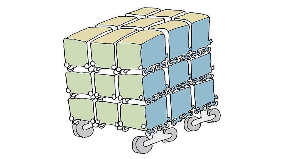 Как вагоны съезжаются по типам грузов