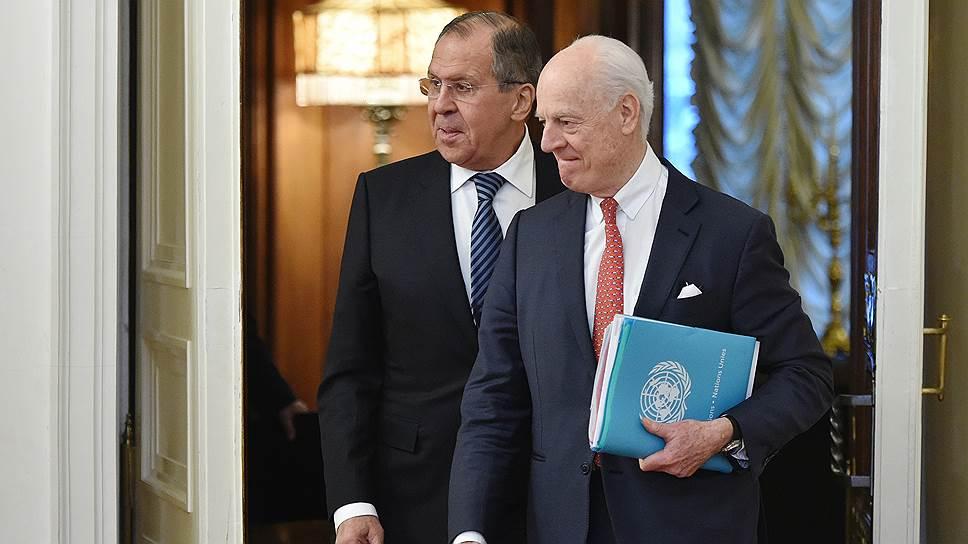 В Москве обсудили последствия обстрела территории Сирии