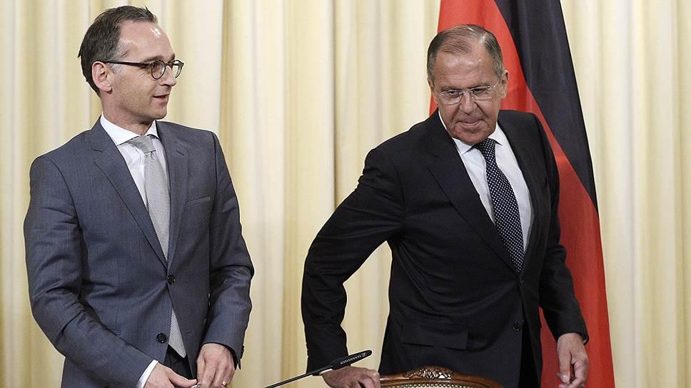 В общении главы МИД РФ Сергея Лаврова с его немецким коллегой не ощущалось той личной «химии», которая отличала его отношения с предшественниками Хайко Мааса на этом посту