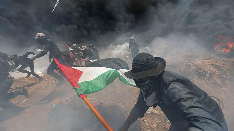 Как протестовали против переноса посольства США в Иерусалим