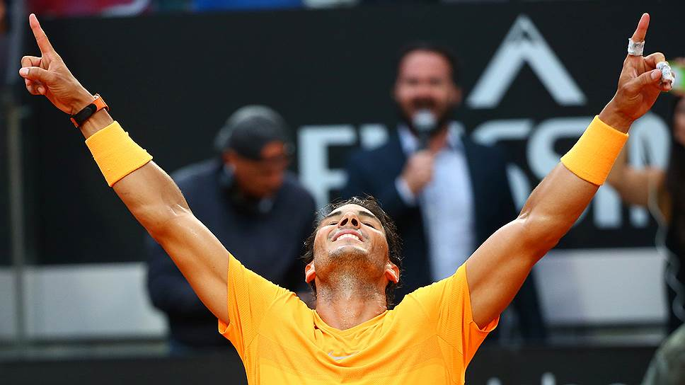 После успеха в Риме на счету Надаля стало 79 турнирных побед. Впереди только трое — Джимми Коннорс (109), Роджер Федерер (97) и Иван Лендл (94)