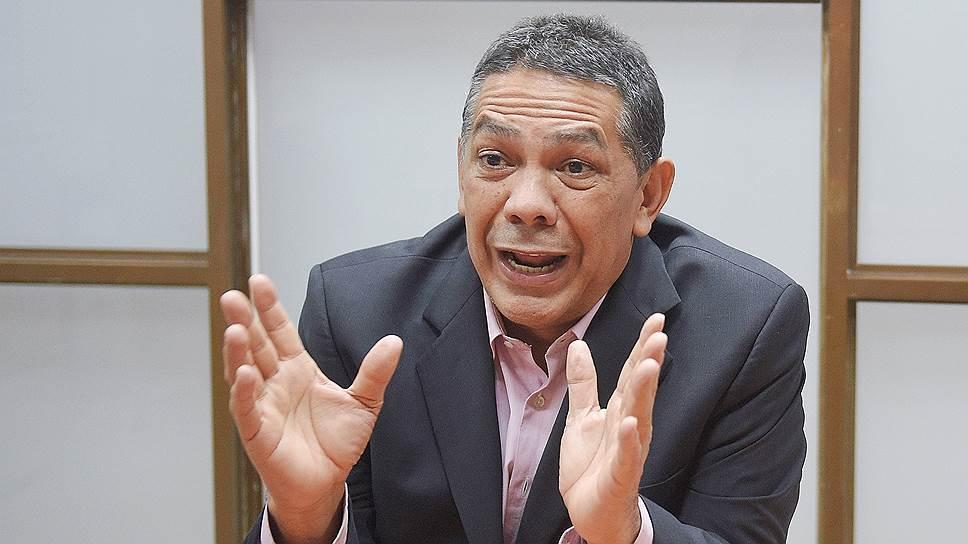 Заместитель главы МИД Венесуэлы по международным связям Уильям Кастильо