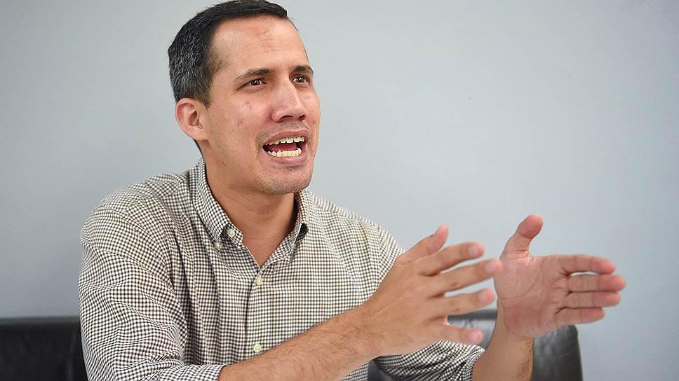 Хуан Гуаидо об итогах прошлых президентских выборов в Венесуэле