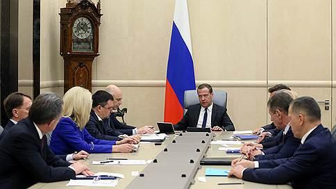 Вице-премьеров ввели в курс // Дмитрий Медведев провел первое совещание со своими новыми замами