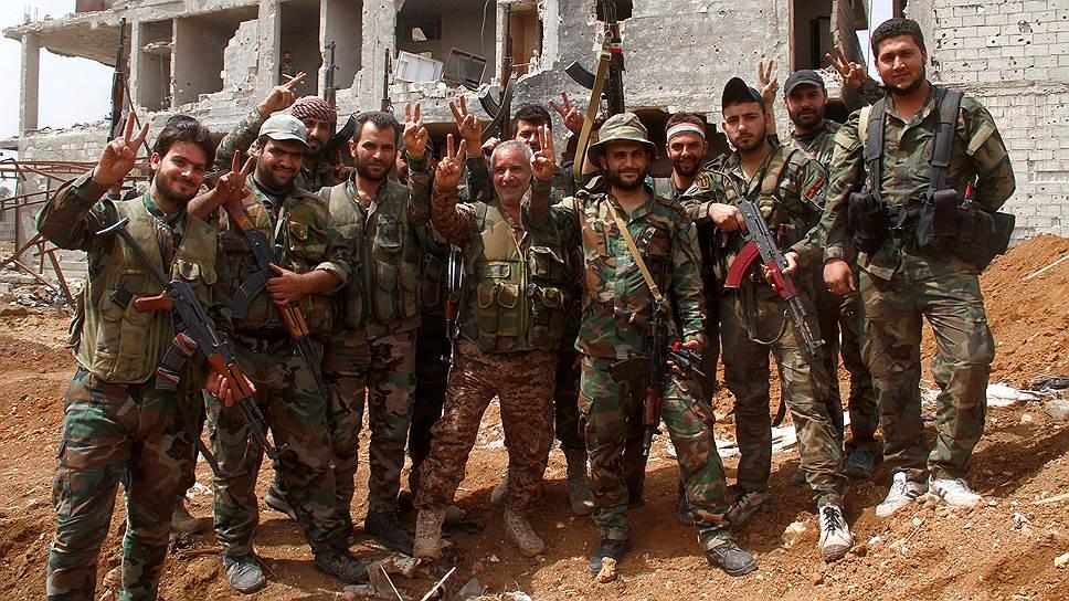 Как идет наступление сирийских правительственных войск