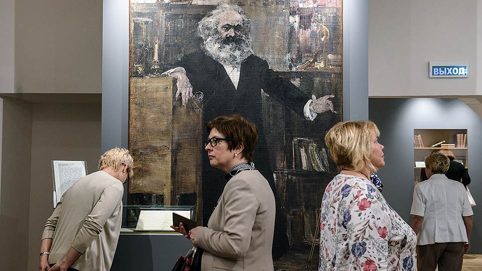 Тропа отечественных исследователей Карла Маркса от входа до выхода оказалась по историческим меркам очень коротка