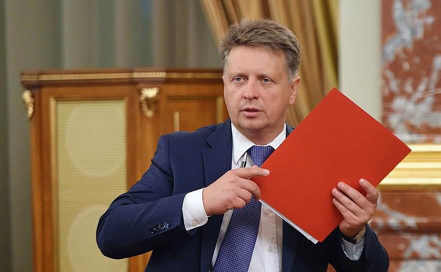 Экс-министр транспорта Максим Соколов