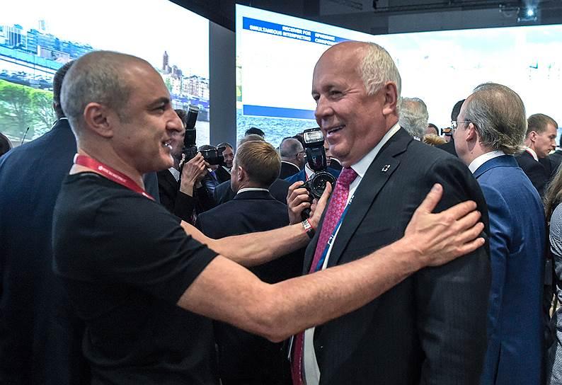 Михаил Турецкий решил выступить дуэтом с главой Ростеха Сергеем Чемезовым