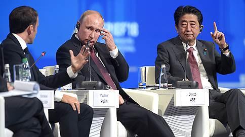 Бремя, вперед! // Лидеры стран участвовали в пленарном заседании ПМЭФ, отягощенные мыслями