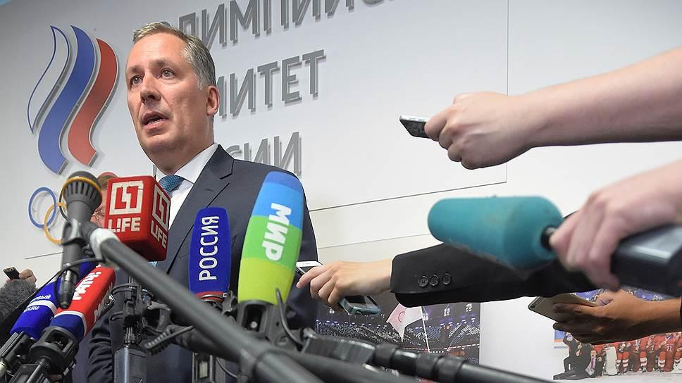 Станислав Поздняков выиграл выборы президента ОКР за явным преимуществом