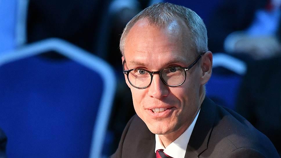Замминистра торговли Швеции Оскар Стенстрём