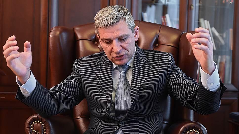Генеральный директор ПАО «Трансконтейнер» Петр Баскаков