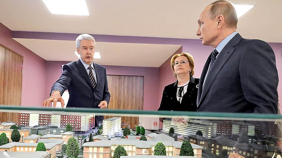 Как Владимир Путин посетил Морозовскую детскую больницу