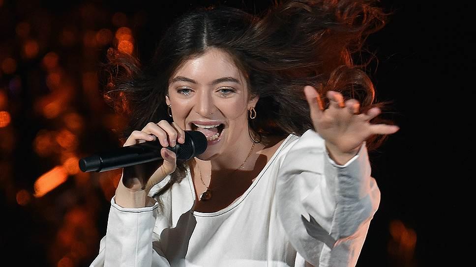 Новозеландская певица Lorde