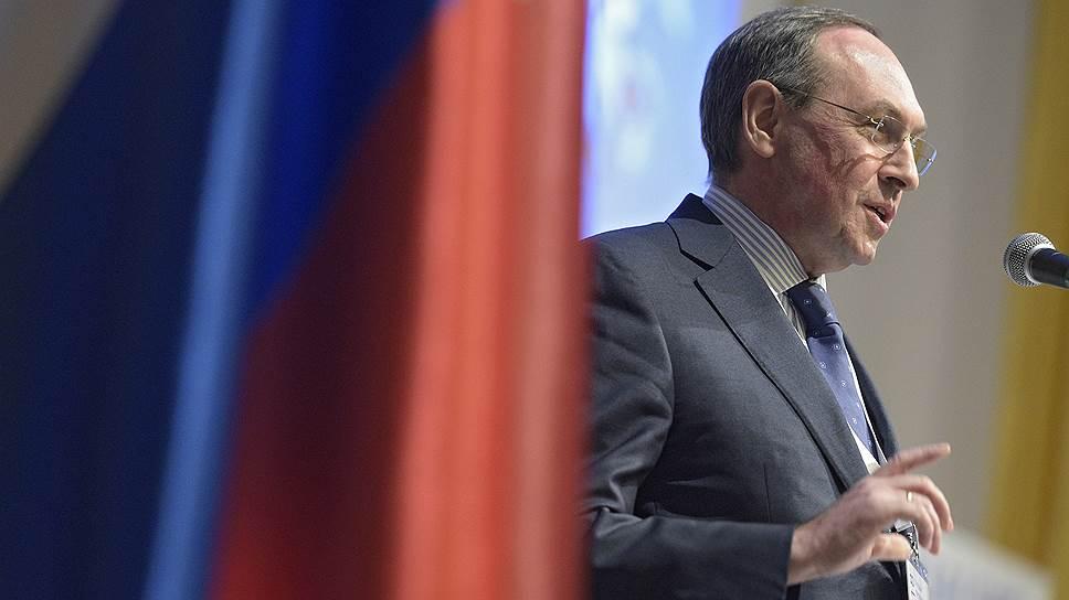 Председатель комитета Государственной думы России по образованию и науке Вячеслав Никонов