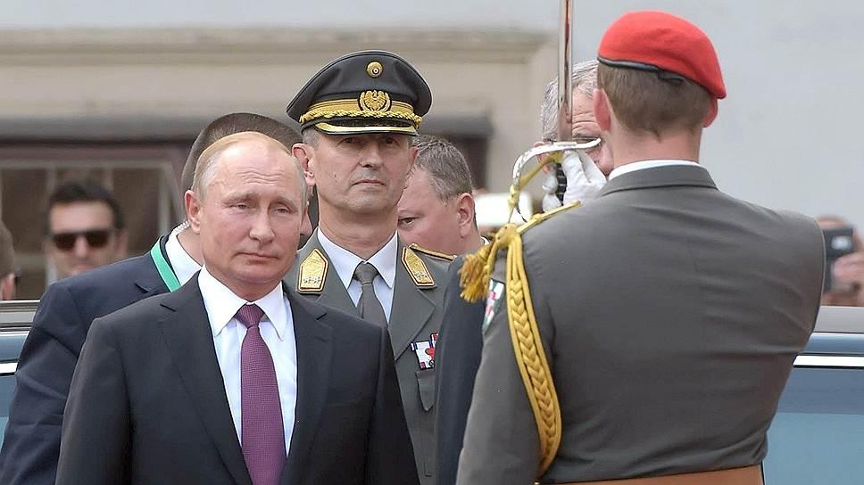 Как Владимир Путин посетил Вену