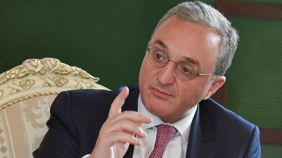 Глава МИД Армении о взаимоотношениях с Россией