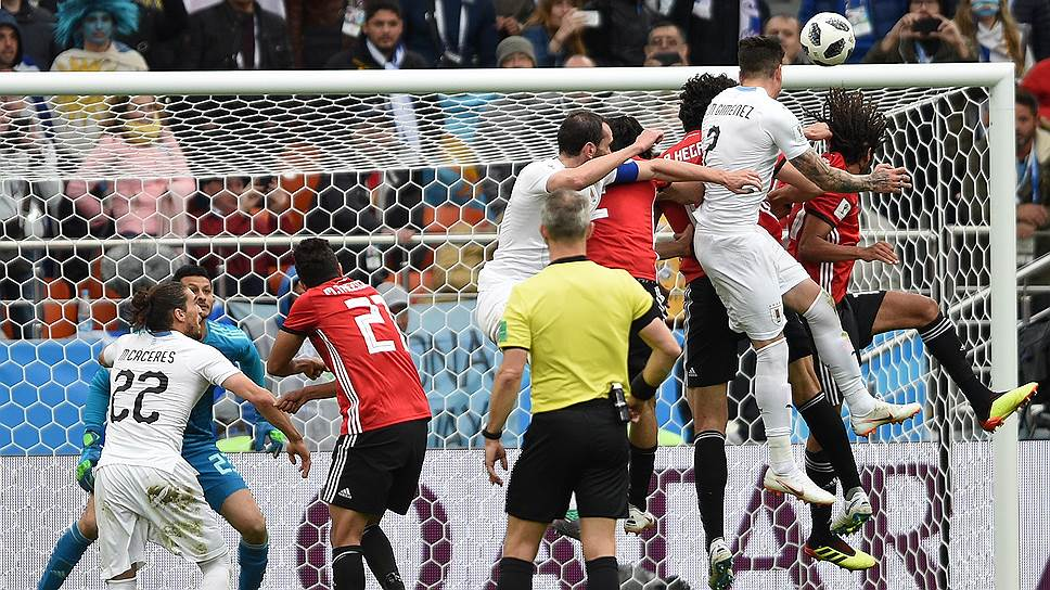 Как сборная Египта сыграла с Уругваем без Мохамеда Салаха