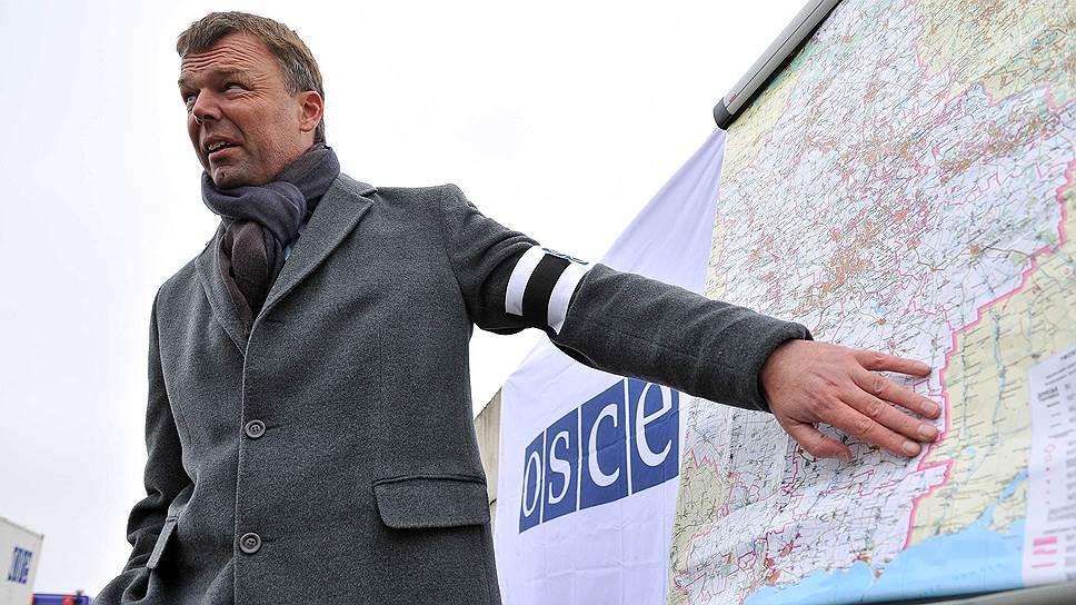 Замглавы мониторинговой миссии ОБСЕ на Украине об эскалации обстановки в Донбассе