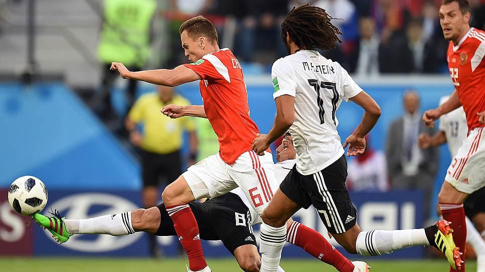 Как прошел матч между Россией и Египтом