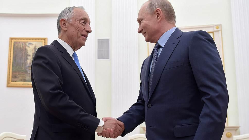 Как президент России помог президенту Португалии успеть на футбол