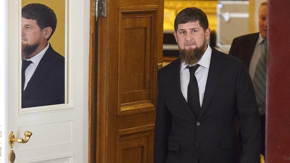 Глава Чечни Рамзан Кадыров примеряется к высоким скоростям