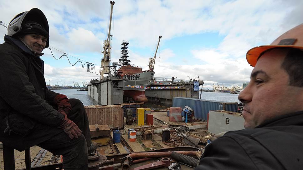 «Северная верфь» может войти в кооперацию с Балтзаводом для получения заказа на сверхмощный ледокол «Лидер» ЛК-120