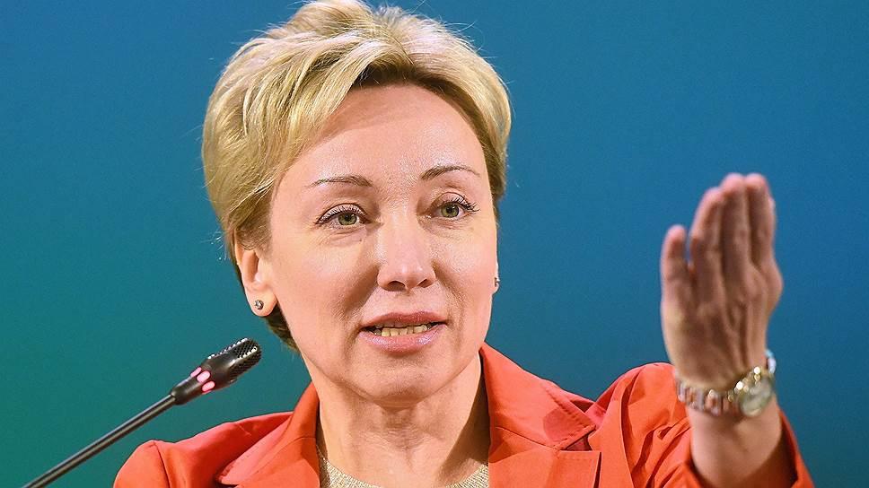 Первый заместитель Председателя Банка России Ольга Скоробогатова