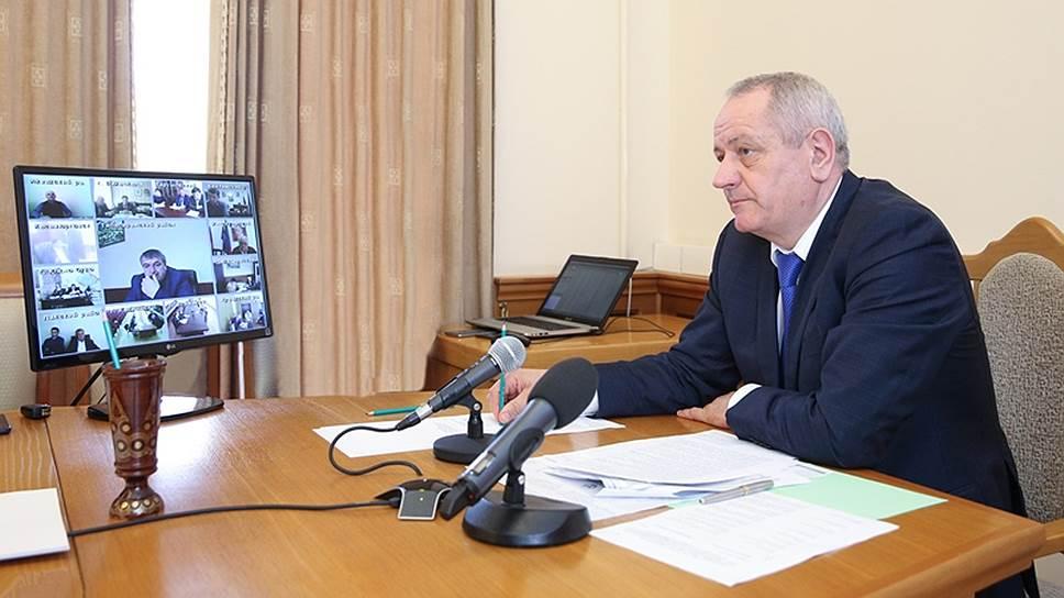 Первый заместитель председателя правительства Дагестана Рамазан Алиев