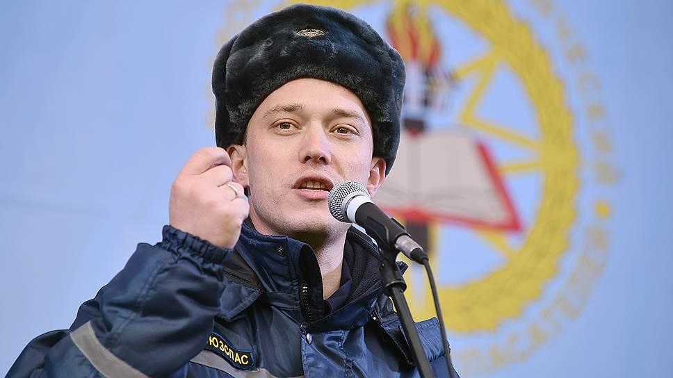 Президент Всероссийского студенческого корпуса спасателей, член Общественной палаты Алексей Аветисов