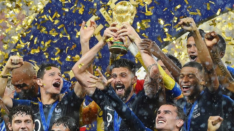 Скажи-ка, дядя, ведь медали / Сборная Франции выиграла российский чемпионат мира