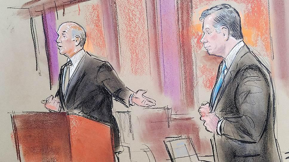 Как начался суд над экс-главой предвыборного штаба Дональда Трампа
