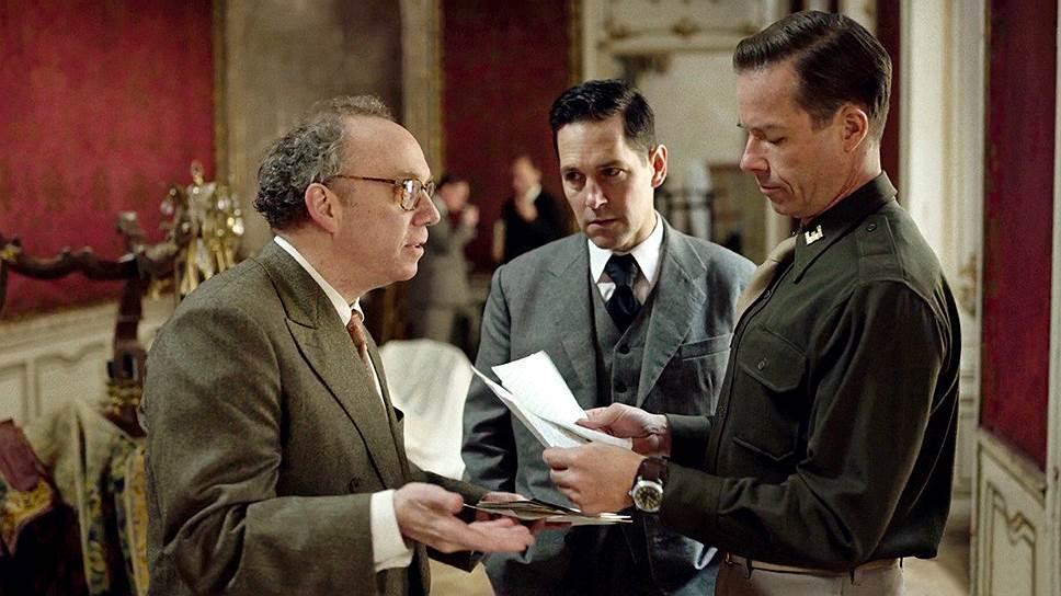 Спортсмен, интеллектуал и тайный агент Мо Берг (Пол Радд, в центре) смотрится персонажем загадочным, но одномерным