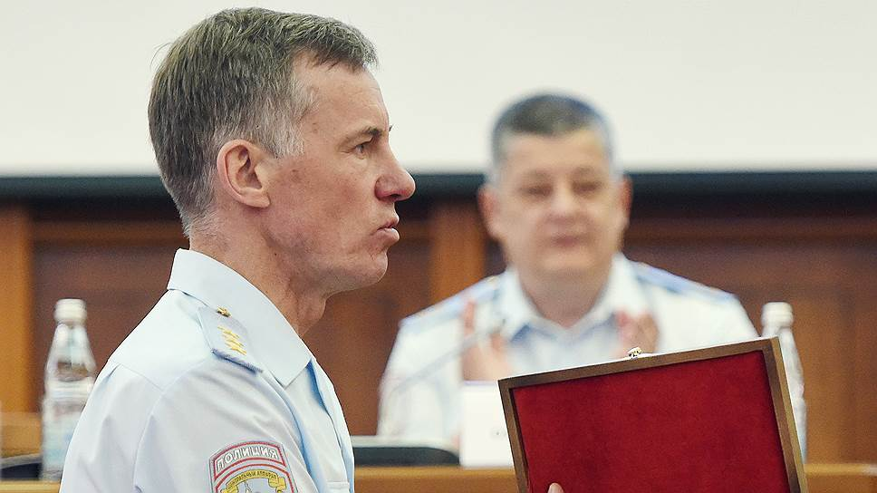 Врио главы МВД Александр Горовой поблагодарил московских полицейских за хорошую работу