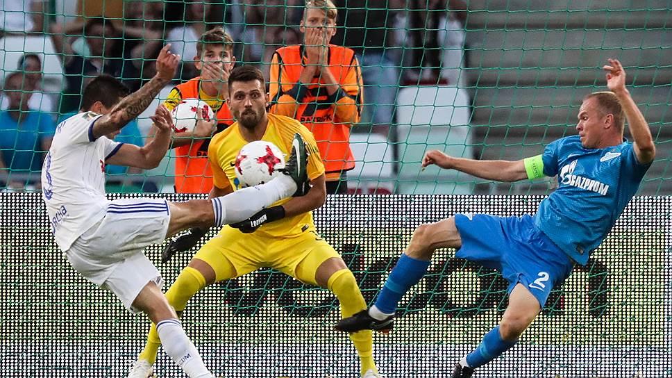 Как «Зенит» и «Уфа» провели первые матчи 3-го отборочного раунда Лиги Европы