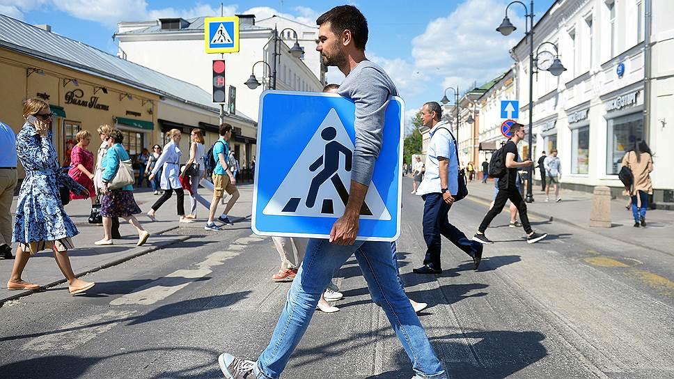 В организации пешеходных пространств регионам стоит использовать опыт Москвы, считают в Минтрансе
