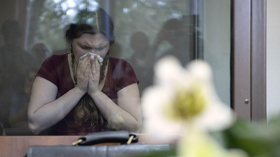 Обвиняемая по делу организации «Новое Величие» Анна Павликова