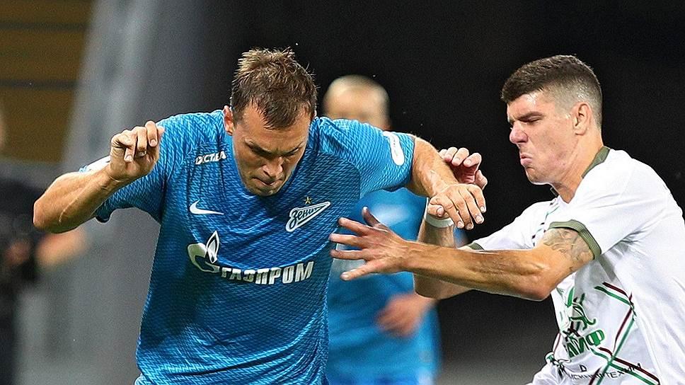 В тяжелейшем матче против «Рубина» победу «Зениту» принесла настойчивость Артема Дзюбы (№22)