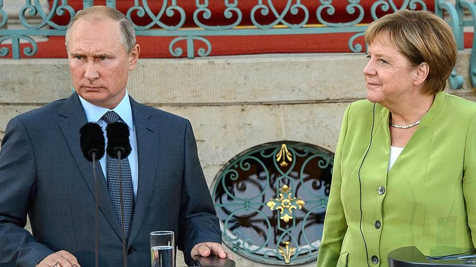 После свадьбы в Австрии Владимир Путин не мог сразу включиться в переговоры с Ангелой Меркель