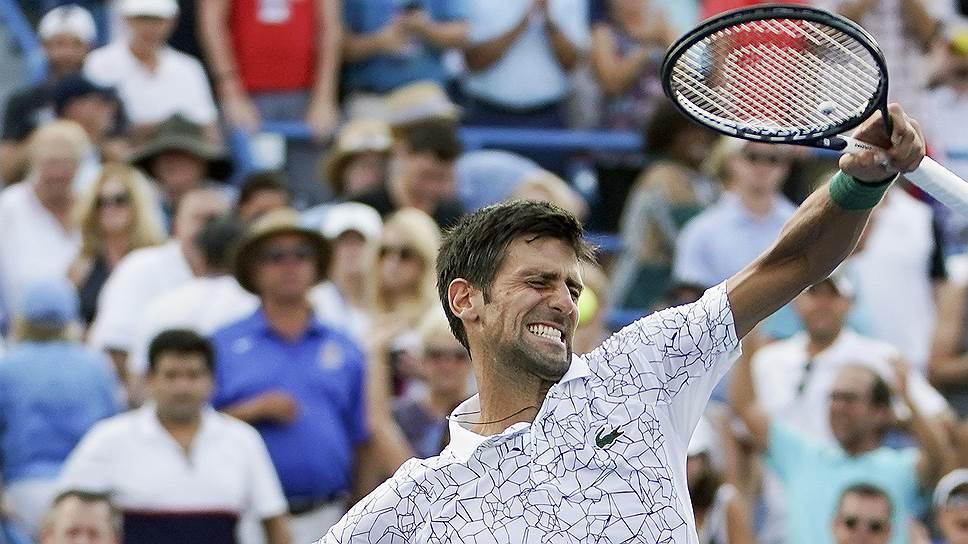 Победив Роджера Федерера в Цинциннати, обладатель всех возможных титулов на состязаниях категории Masters 1000 Новак Джокович выиграл 70-й турнир за карьеру