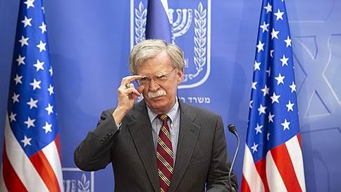 Джон Болтон предлагает обменять Иран на диалог // Советник президента Трампа ищет новые каналы взаимодействия с Россией