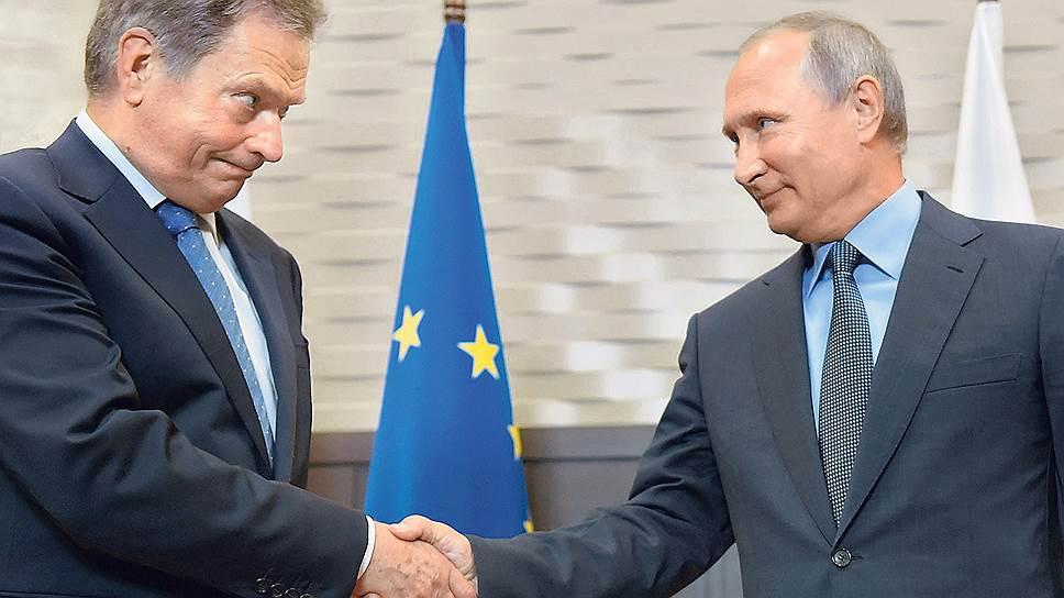 Президент Финляндии Саули Ниинистё назвал свою беседу с Владимиром Путиным в Сочи «очень понятной, четкой, конструктивной и результативной»