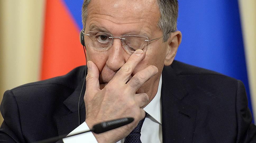 Сергей Лавров заявил о наличии у России и Турции общего «политического понимания» ситуации в Идлибе