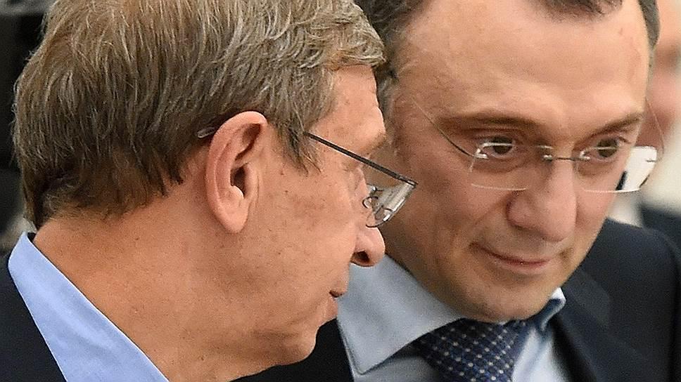 Преодолев каждый свои проблемы, Владимир Евтушенков и Сулейман Керимов смогли вернуться к разговорам о «Детском мире»