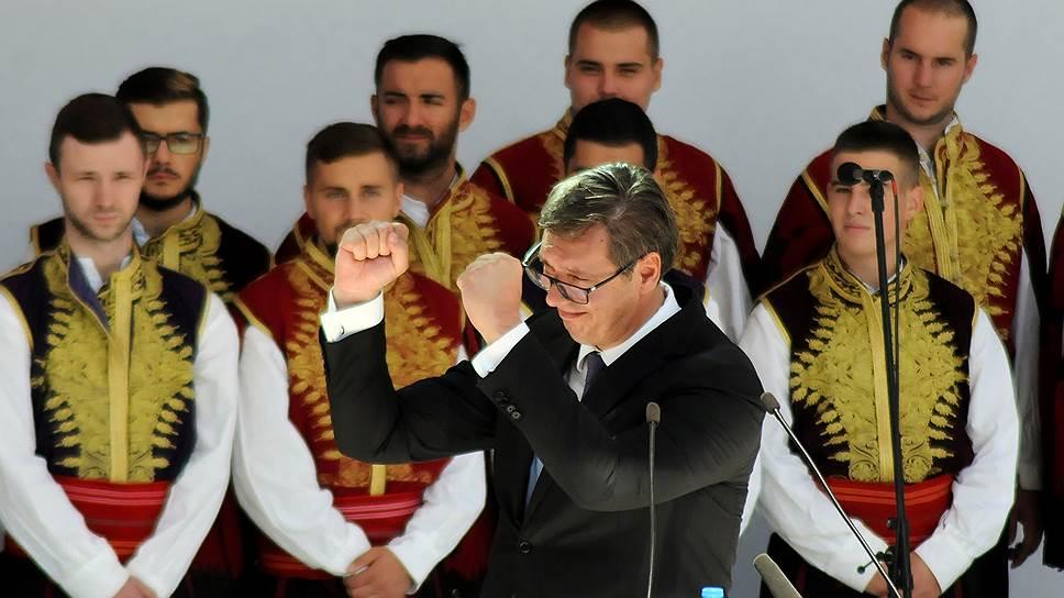 Выступая в Косовска-Митровице, президент Сербии Александр Вучич заверил, что его диалог с руководством Косово будет продолжен, поскольку ему нет альтернативы