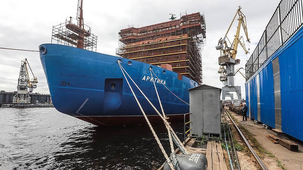 Почему ледокол «Арктика» не выйдет на Севморпуть и в 2019 году